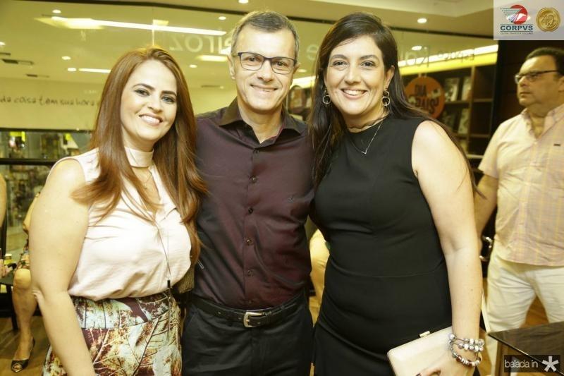 Socorro Flavia Borges, George Pimenta e Lana Trigueiro