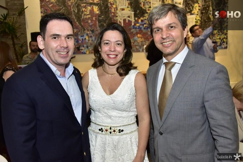 Jonas e Ticiana Fuzesi e Romulo Soares