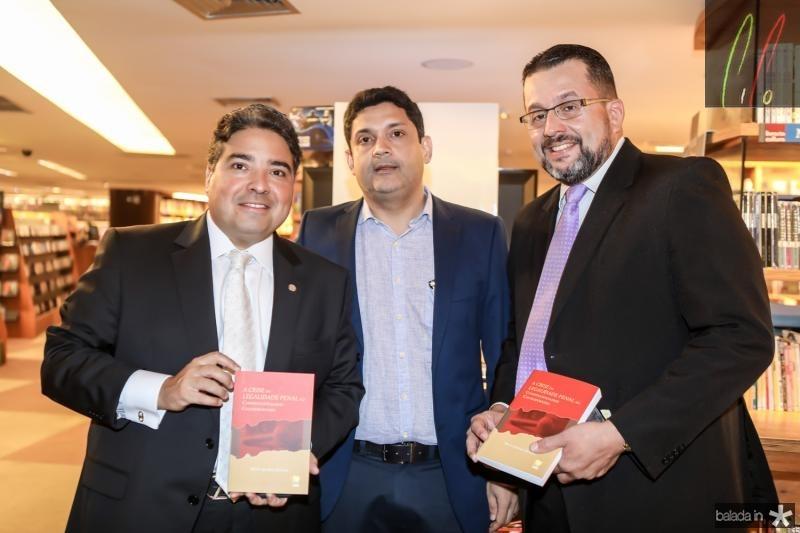 Leandro Vasquez, Bruno Queiroz e Fernando Dantas