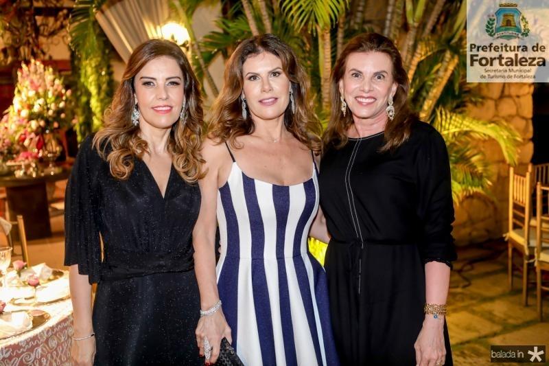 Rosele Diogo, Karla Nogueira e Sandra Pinheiro