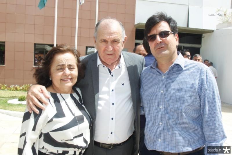 Sildete e Francini Guedes e Fernando Facanha