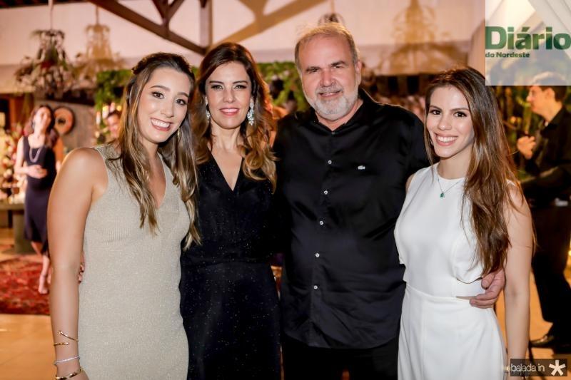 Manoela Melo, Rosele e Haroldo Diogo e Manoela Rolim