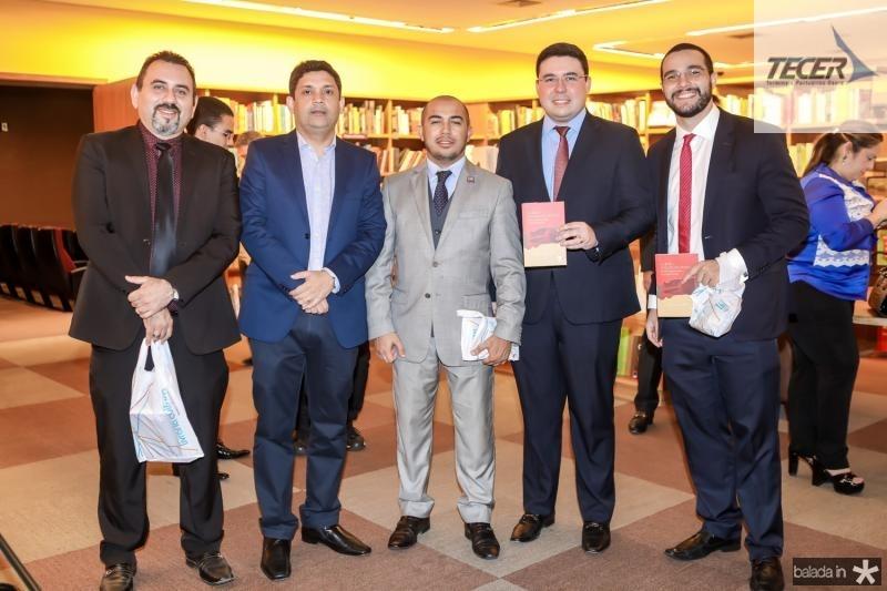 Alexandre Sales, Buno Queiroz, Ramon David, Gabriel Brandao e Italo Barbosa