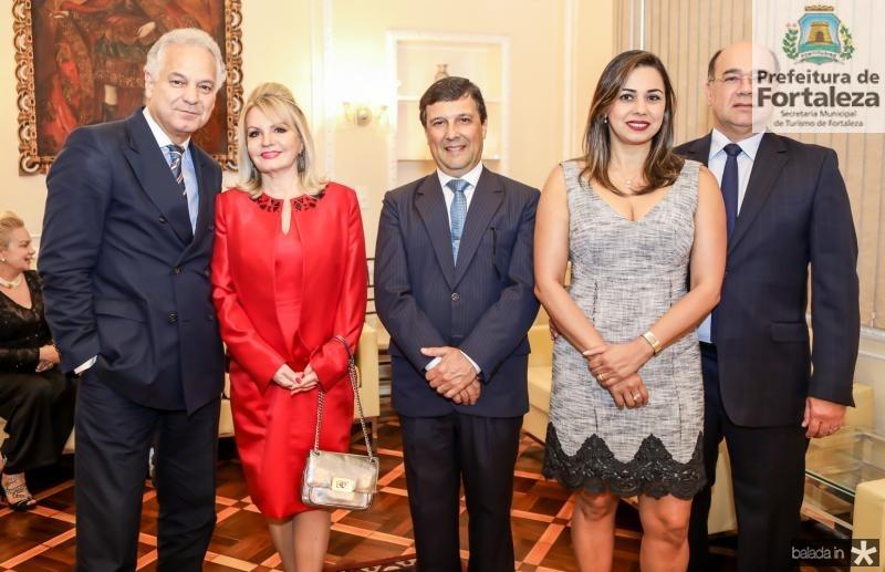 Wilson Fernandes, Ana Amariles, Otavio de Sousa,  Denise Dantas e Ivan Valença