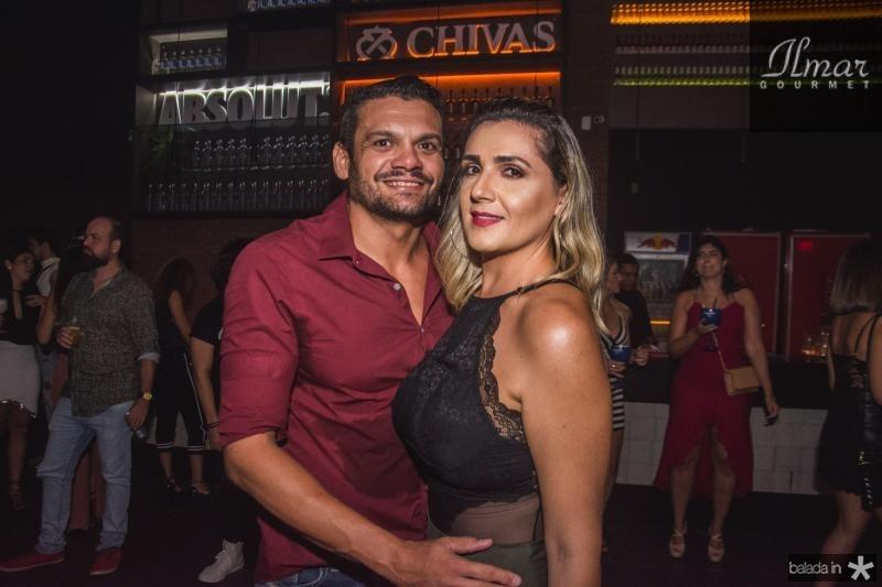 Daivisson Lima e Mirela Barreto