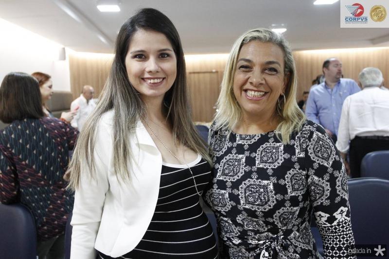 Dayana Dinz e Simone Gerard
