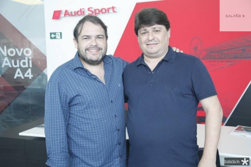 Marcos Viveiros e George Lima