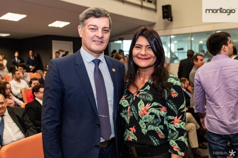 Cid Marconi e Patricia Saboya