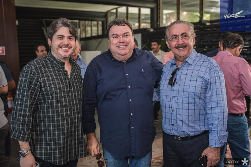 Bosco Rios Filho, Adriano Albuquerque e Bosco Rios