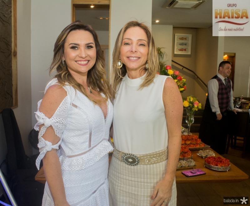 Socorro Medeiros e Ana Paula Daud