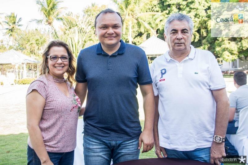 Marilda Rocha, Hebert Lobo e Patricio Almeida
