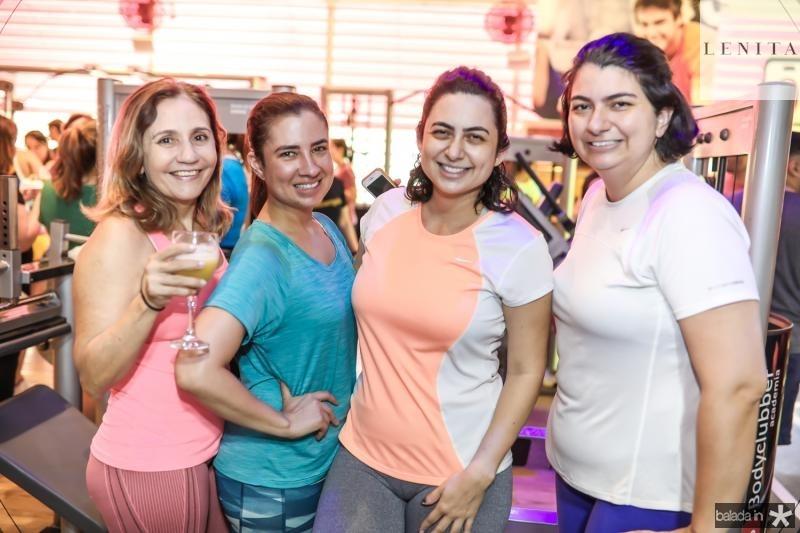 Ivane Menezes, Amanda Feitosa, Bruna Albuquerque e Camila Albuquerque