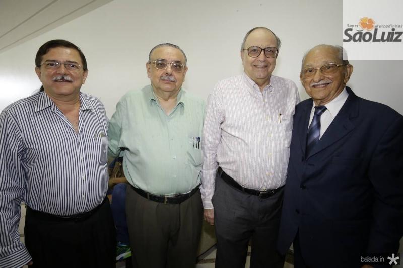 Luiz de Gonzaga, Sergio Gomes, Joao Evangelista e Thomaz Figueiredo