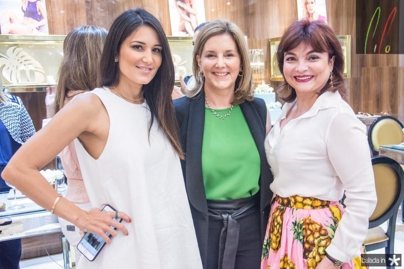 Aline Pinho, Fernanda Matoso e Christiane Leite