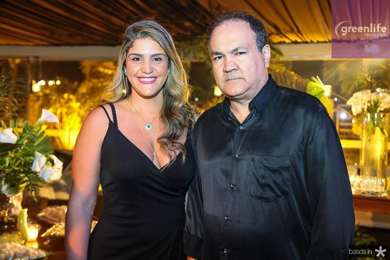 Alessandra e Jamil Jereissati