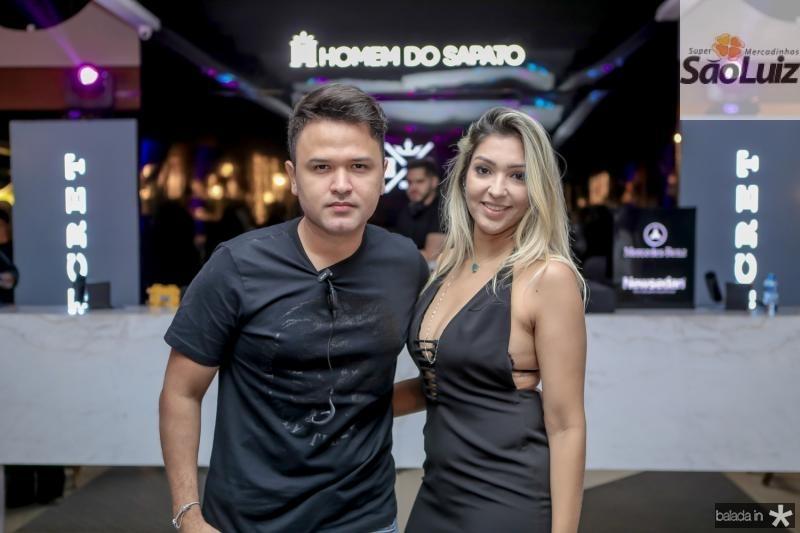 Jhonatan Rego e Renata Braga