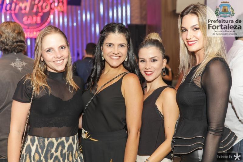 Natalia Petroni, Michele Squiner, Roberta Quaranta e Germana Melo