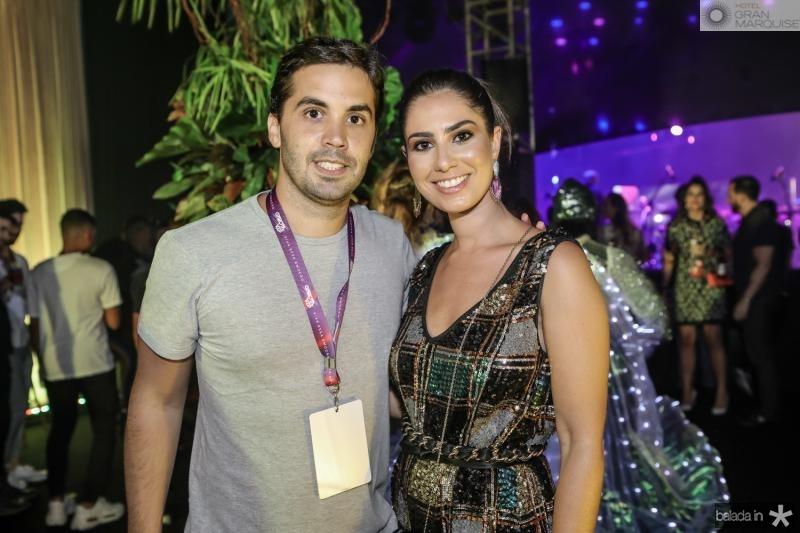 Netinho Baide e Nicole Pinheiro