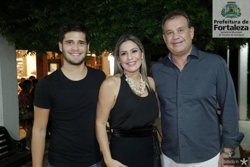 Marcelo, Deborah e Ricardo Nibon