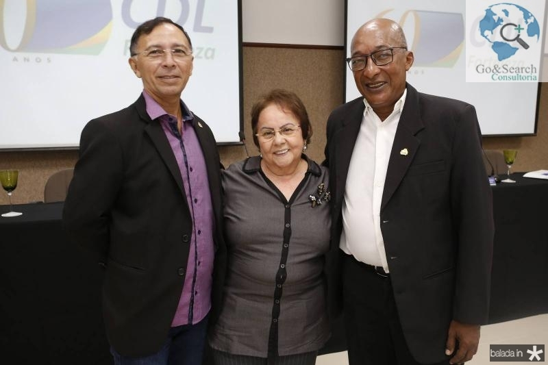 Gilberto Saboia, Francilene Macedo e Ricardo Black