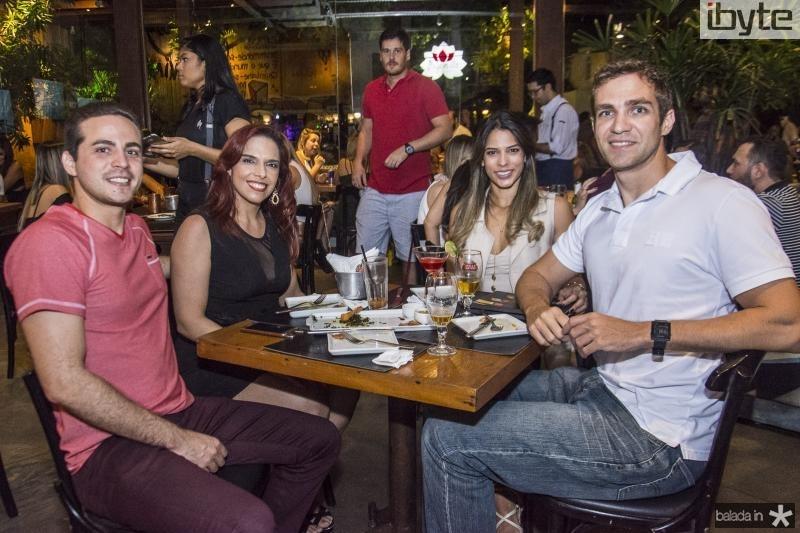 Ronaldo Lucas, Aleteia Alves, Jovita Veras e Vitor Albuquerque