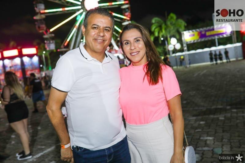 Valdir e Samara Fernandes