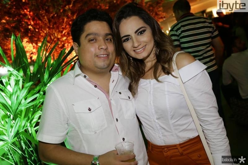 Bruno Lemos e Leane Fontenele