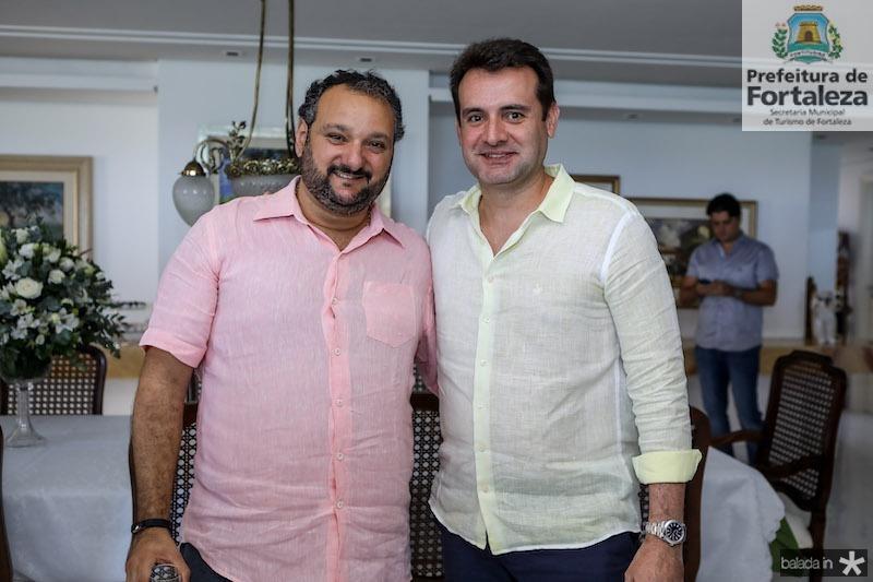 Patriolino Dias e Fernando Gurgel