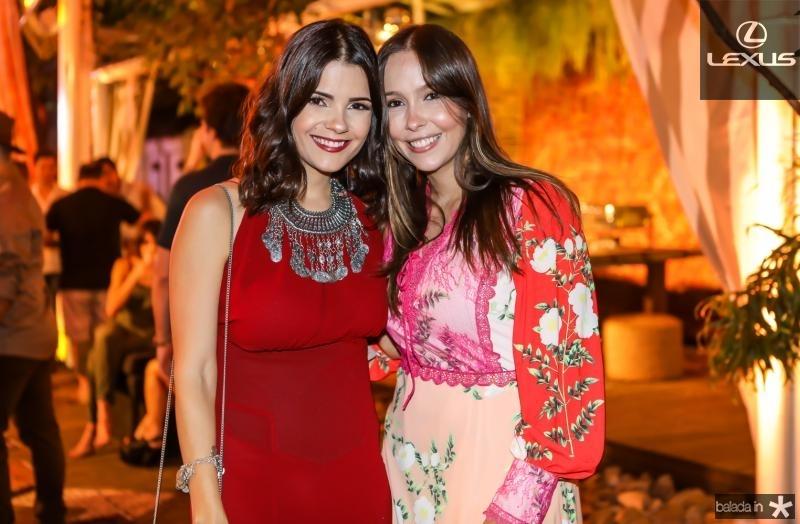 Priscila Becco e Rafaela Asfor