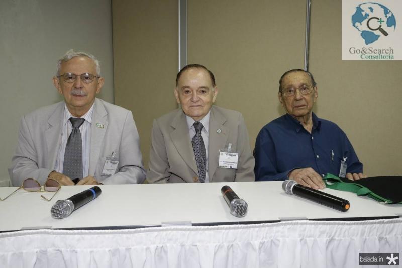 Manasses Fonteles, Djacir Figueiredo e Gilmario Mourao