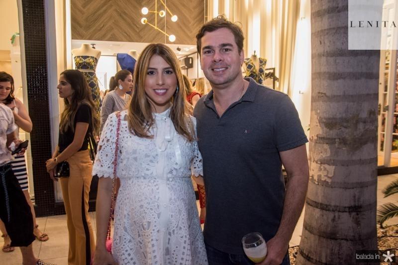 Tayra Romcy e Leonardo Aguiar