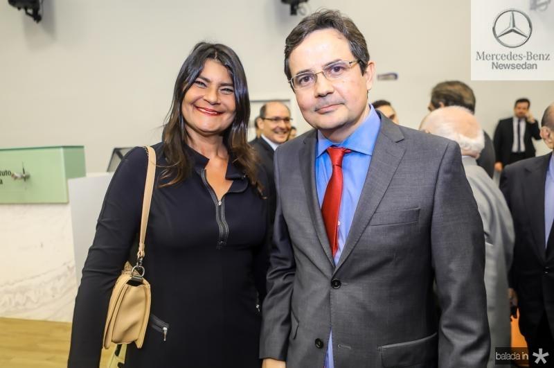 Patricia Saboia e Edilberto Pontes
