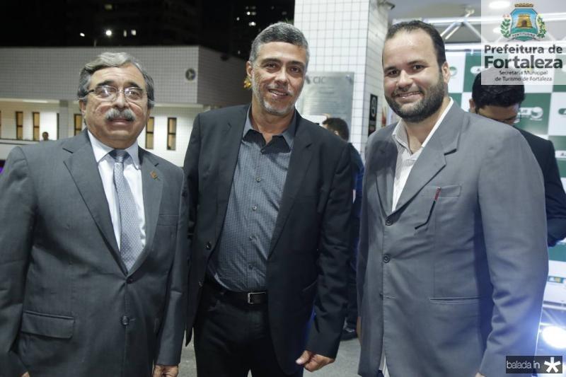 Roberto Sergio, Ricardo Pereira e Carlos Ernesto