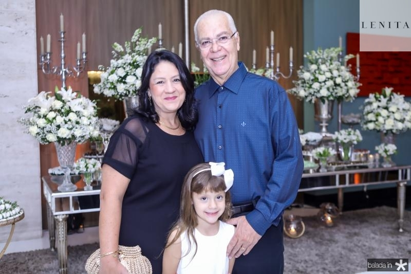 Rosilandia, Leticia e Humberto Lima
