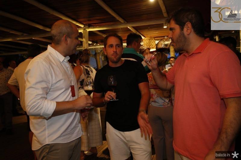 Andre Linheiro, Rodrigo Frota e Eduardo Castelao 2