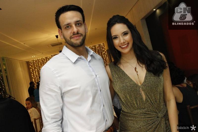 Eduardo Barreira e Talita Bezerra