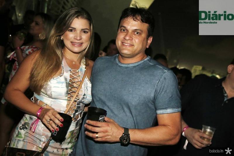 Kamila e Adriano Barbosa