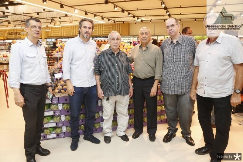 Elder Lima, Paulo Barreto, Mauricio Silva, Mario Viana, Fabiano Silva e Cesar Roma