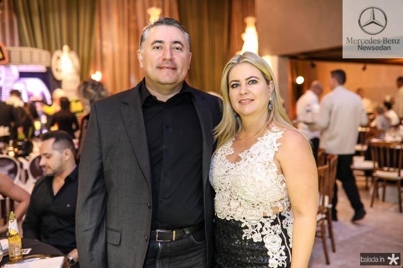 Paulo Marcelo e Cristiane Rocha