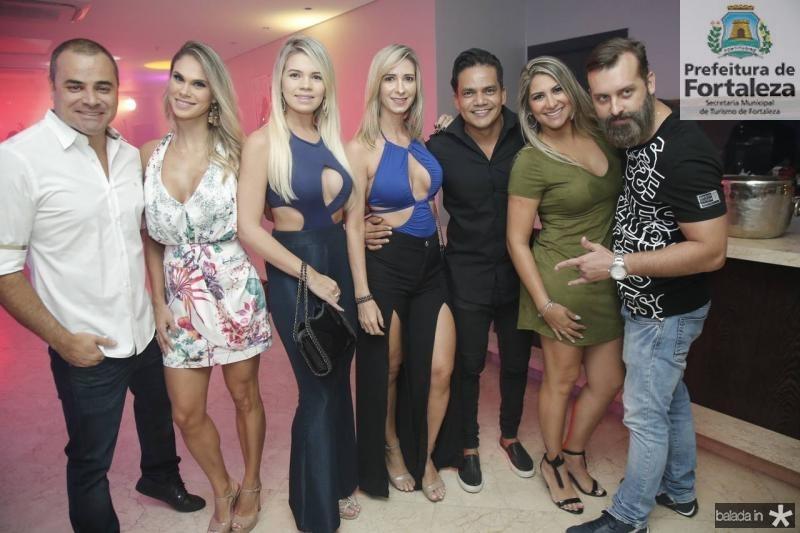 Fred Oliveira, Larissa Sales, Roberta Tatiana, Sinara Teixeira, Netinho Rodrigues, Nadia Tavares e Marco Padilha