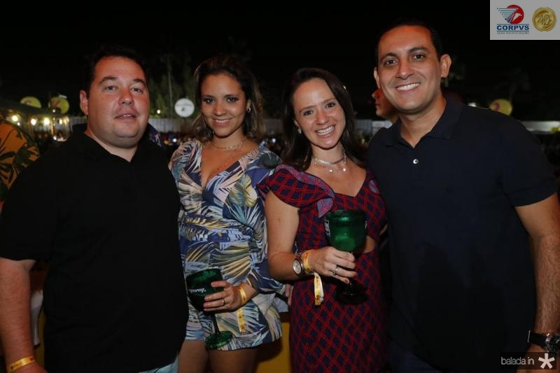 Victor e Leiciane Santos, Dayana e Elias Taim