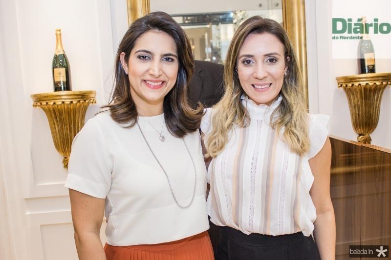 Camila Praca e Olga Vieira