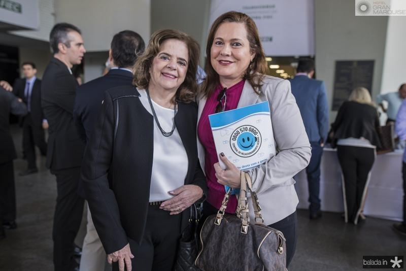Roseane Medeiros e Marta Campelo