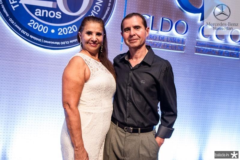 Regina Claudio e Alvaro Fernandes