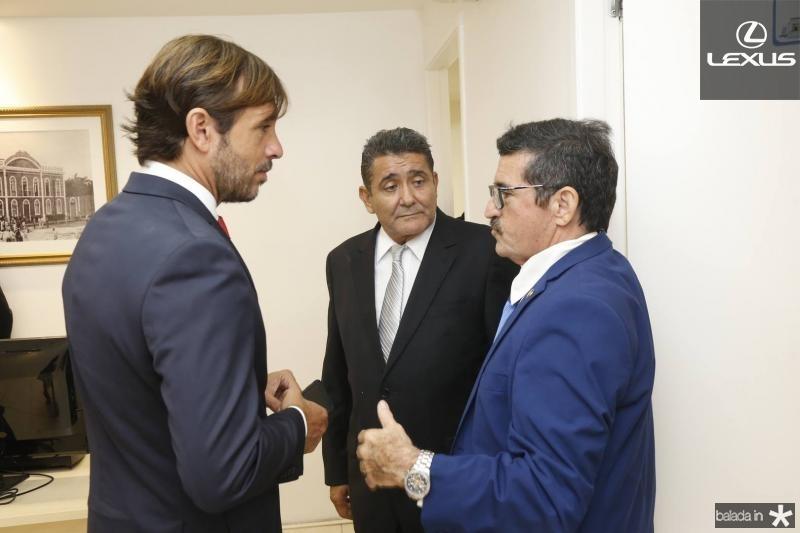 Guilherme Sampaio, Alipio Rodrigues e Professor Eloi