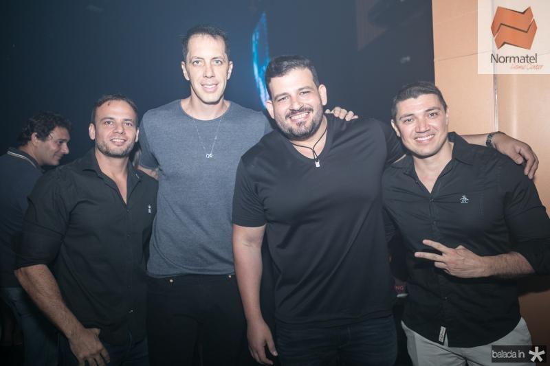 Fabio Mondim, Felipe Ribeiro, Renato Lourenço e Paulo Carvalho