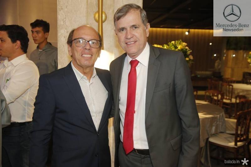 Andre Montenegro e Apolo Scherer