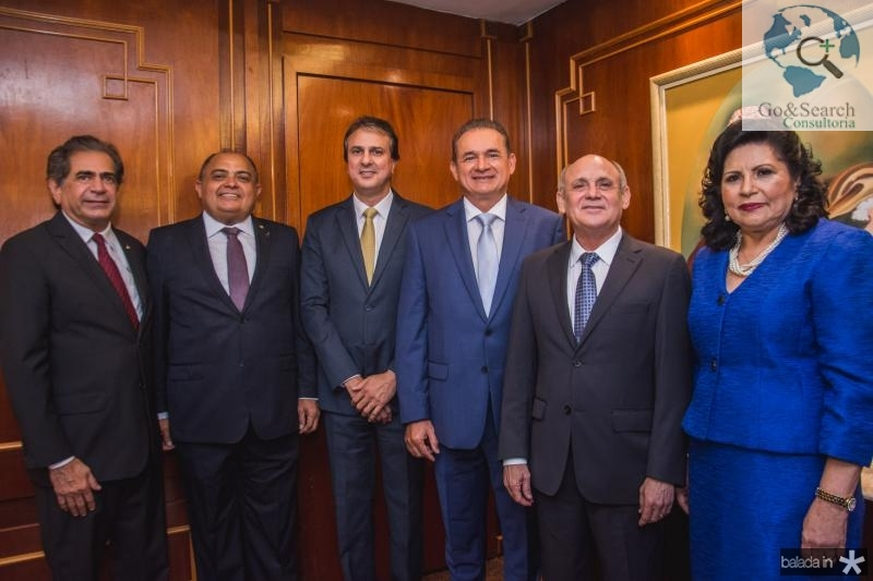 Zezinho Albuquerque, Teodoro Silva, Camilo Santana, Washigton Araujo, Gladyson Pontes, e Nailde Pinheiro