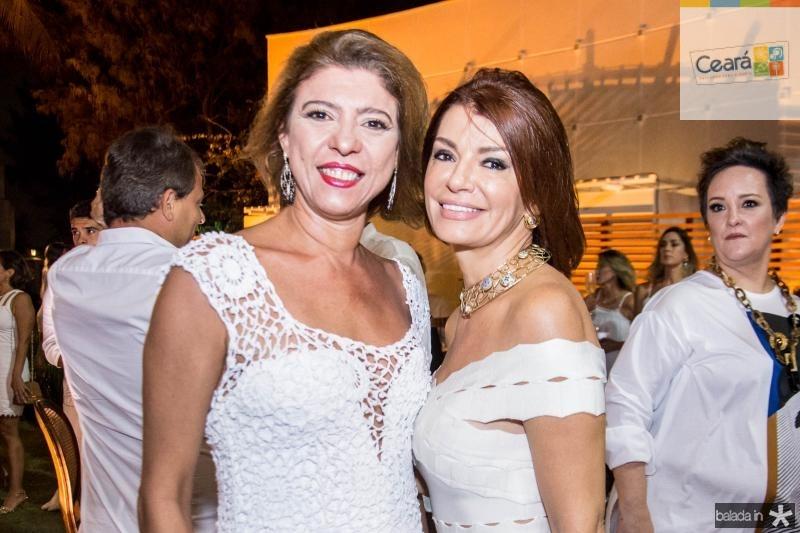 Inara de Almeida e Suzane Farias