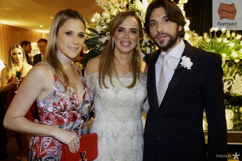 Martinha Freire, Sonia Ximenes e Aderbal Freire